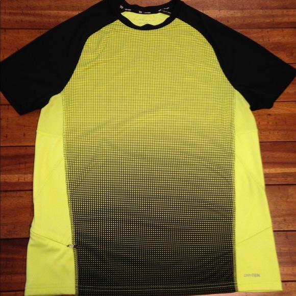 Tek Gear Performance Short Sleeve Top Drytek Red /& Black Mens Training Tee